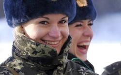 Ngắm nhìn vẻ đẹp chết người của nữ binh lính Ukraine