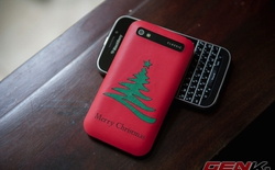Muôn cách thay áo smartphone đón Giáng Sinh
