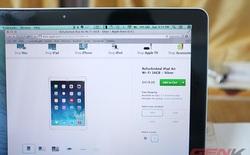 """iPad Air đã có hàng """"refurbished"""", giá rẻ hơn gần 2 triệu đồng"""