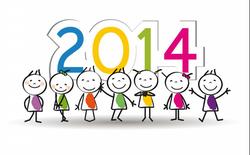 Đón năm mới 2014 cùng cư dân mạng