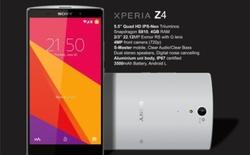 Lộ ảnh thật Sony Xperia Z4: nắp lưng nhựa, không còn mặt kính