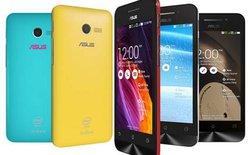 Zenfone 4 được nâng cấp pin 1.600 mAh, giá 2.19 triệu tại Việt Nam