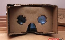 Mở hộp kính thực tế ảo Google Cardboard VR