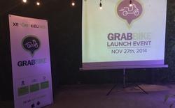 GrabBike chính thức được ứng dụng tại TP.HCM
