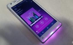 Thêm sắc màu cuộc sống với ý tưởng Xperia Z4 Compact tích hợp Illumination Bar