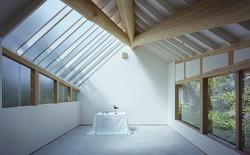 Kiến trúc studio mới lạ, đặc biệt chỉ sử dụng ánh sáng tự nhiên