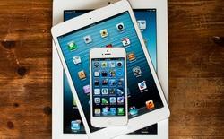Những thiết bị được nâng cấp lên iOS 8