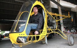 Người chế tạo trực thăng 'made in Vietnam' bị lập biên bản