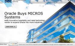 Oracle mua lại Micros System với giá 5,3 tỷ USD