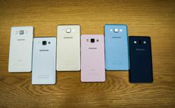 Xuất hiện giá bán chính hãng của Galaxy A3 và A5