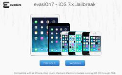 Đã có evasi0n7 phiên bản mới nhất hỗ trợ jailbreak iOS 7.0.6