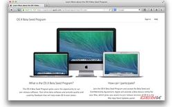 Hướng dẫn tham gia chương trình thử nghiệm OS X mới của Apple