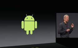 """Apple không ngại """"ném đá"""" đối thủ Android trong sự kiện ra mắt iOS 8"""