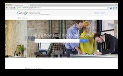 """Google """"đi buôn"""" tên miền với dịch vụ mới Google Domains"""