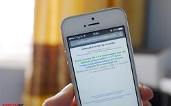 Hướng dẫn kiểm tra tình trạng và công cụ hỗ trợ jailbreak iPhone, iPad