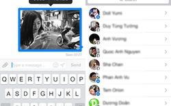 Facebook Messenger trên iOS cập nhật tạo chat nhóm, chuyển tiếp tin nhắn