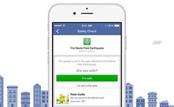 Facebook Safety Check: Hãy để người thân biết bạn đang an toàn