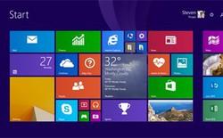 Người dùng Windows 8 lại giảm, thấp hơn cả Vista trước đây