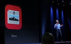 Diện mạo ứng dụng đọc báo Apple News trên iOS 9 beta 3