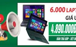 Laptop mua 1 tặng 8 – chương trình ưu đãi lớn nhất trong năm