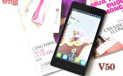 Wing 50: Smartphone màn hình lớn được nhiều người dùng ưa chuộng