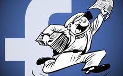 Báo chí lo ngại quyền lực của Facebook