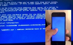 iPhone 6 cũng bị dính lỗi màn hình xanh chết chóc