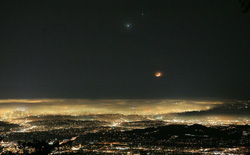 Có thể quan sát hiện tượng sao Kim và sao Mộc xuất hiện gần nhau nhất trong vòng 24 năm qua