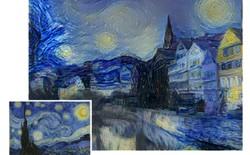 Đã tạo ra robot có khả năng hội họa thiên tài như Van Gogh