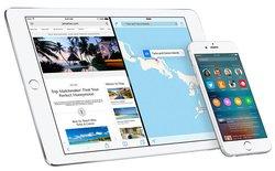 Apple chặn đường về iOS 8.4.1 và iOS 9.0