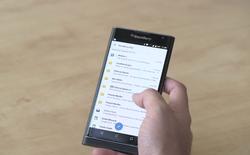 Hình ảnh chính thức của smartphone BlackBerry Priv chạy Android