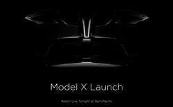Tesla đang stream trực tiếp sự kiện ra mắt mẫu xe điện Model X