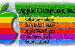 Trang chủ Apple.com đầu tiên trông ra sao?