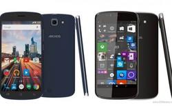 Archos tung bộ 3 smartphone giá rẻ mới, 1 chiếc chạy Windows 10 Mobile