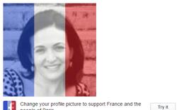 Facebook giúp người dùng thay avatar quốc kỳ Pháp