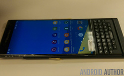 Lộ ảnh thực tế BlackBerry Venice màn hình cong chạy Android