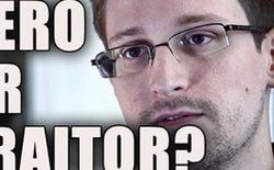 Edward Snowden đã trở lại và bắt đầu dùng Twitter