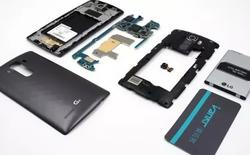 Rã máy LG G4: siêu phẩm nhưng dễ sửa chữa