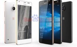 Lộ ảnh Lumia 850: khung kim loại có màu vàng hồng