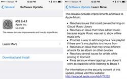 Apple cập nhật iOS 8.4.1, sửa cả tấn lỗi của Apple Music