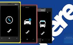 Bản đồ HERE Maps cập nhật phiên bản mới trên iOS, Android và Windows Phone
