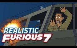 [Video] Chuyện gì xảy ra khi các cảnh hành động trong Fast and Furious 7 là thật