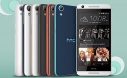 HTC trình làng bộ tứ smartphone giá rẻ thuộc dòng Desire