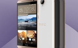 HTC One E9+ chính thức trình làng: cấu hình khủng, camera lồi, vỏ nhựa