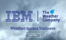 IBM đang tiến rất gần tới thương vụ Weather Company