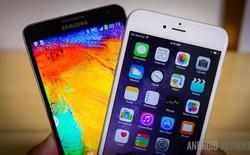 Galaxy Note 4 đánh bại iPhone 6 ngay trên sân nhà