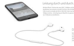 Thiết kế iPhone 7 siêu mỏng tuyệt đẹp khi không có jack 3.5mm