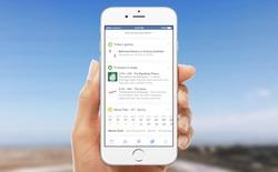 Facebook bắt đầu cập nhật thông báo dạng thẻ giống Google Now