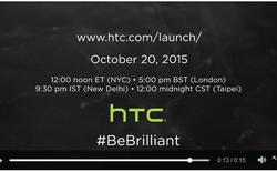 HTC gợi ý về mẫu smartphone One A9, ra mắt ngày 20/10