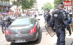 Sau bạo loạn Paris, hành khách đi Uber được cảnh sát bảo vệ như tổng thống